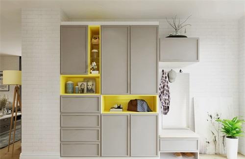 白色柜体配新中式家具 新中式衣柜特点有哪些