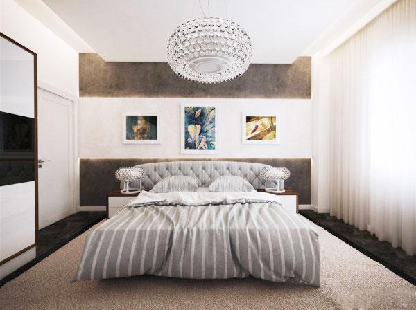 白色家具配新中式床可以吗