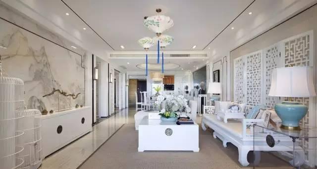 白色家具适合新中式风格吗