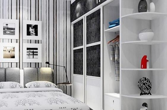 白色门可以搭配新中式家具吗