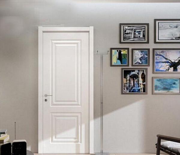 白色门配新中式家具