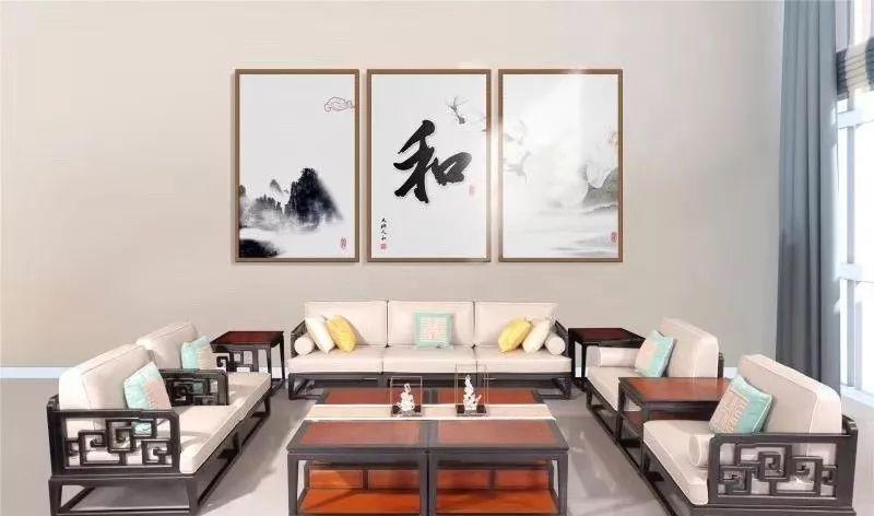 布艺加原本新中式家具