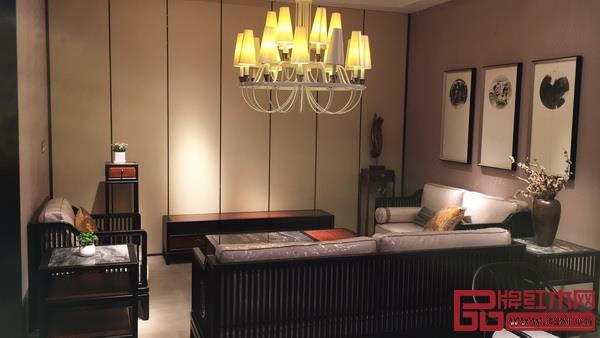 东方之信空间重视灯光、软装配饰的搭配