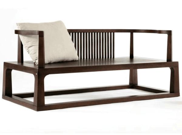 深色硬木新中式家具