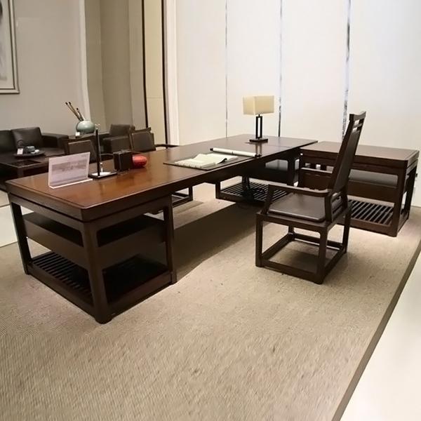实木新中式办公家具