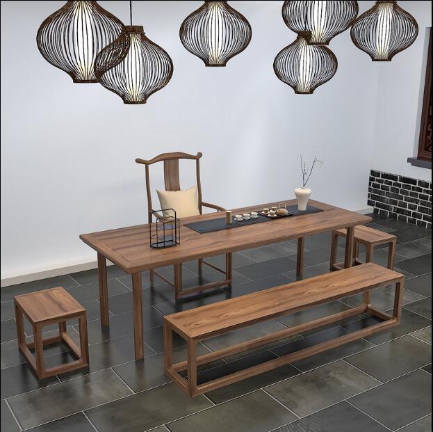实木新中式家具的特点