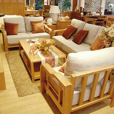 实木新中式家具贴皮