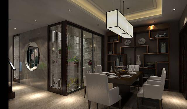 现代风格配新中式家具