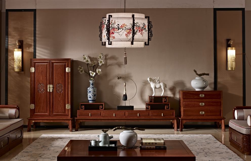 从浙江风格使用新中式家具浅谈新中式风格